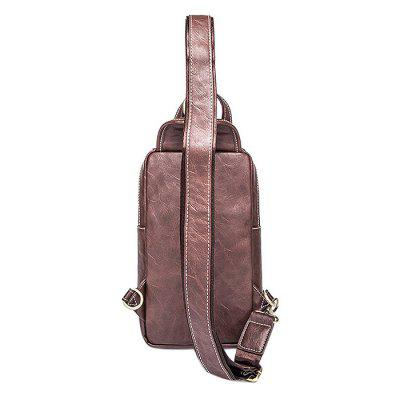 Retro Splicing PU Water-resistant Chest Bag for MenCrossbody Bags<br>Retro Splicing PU Water-resistant Chest Bag for Men<br><br>Features: Wearable<br>Gender: Men<br>Material: PU, Polyester<br>Package Size(L x W x H): 30.00 x 17.00 x 3.00 cm / 11.81 x 6.69 x 1.18 inches<br>Package weight: 0.4600 kg<br>Packing List: 1 x Chest Bag<br>Product weight: 0.4000 kg<br>Style: Fashion, Casual<br>Type: Shoulder bag