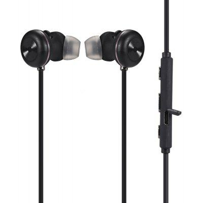 S500 Wireless Magnetic Stereo Bluetooth Sports Earbuds with On-cord Control Function / Supports Hands-free Call