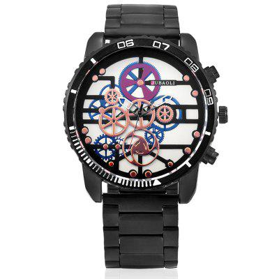JUBAOLI G1180 Unique Quartz Men WatchMens Watches<br>JUBAOLI G1180 Unique Quartz Men Watch<br><br>Band material: Steel<br>Band size: 20 x 1.3 cm<br>Brand: Jubaoli<br>Case material: Alloy<br>Clasp type: Sheet folding clasp<br>Dial size: 5 x 5 x 1.2 cm<br>Display type: Analog<br>Movement type: Quartz watch<br>Package Contents: 1 x Watch, 1 x Box<br>Package size (L x W x H): 33.50 x 13.00 x 6.50 cm / 13.19 x 5.12 x 2.56 inches<br>Package weight: 0.2000 kg<br>Product size (L x W x H): 25.00 x 5.00 x 1.20 cm / 9.84 x 1.97 x 0.47 inches<br>Product weight: 0.1450 kg<br>Shape of the dial: Round<br>Watch style: Casual, Fashion<br>Watches categories: Men