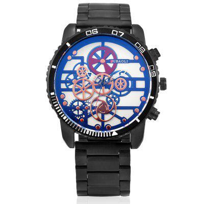 JUBAOLI G1180 Unique Quartz Men WatchMens Watches<br>JUBAOLI G1180 Unique Quartz Men Watch<br><br>Band material: Steel<br>Band size: 20 x 1.3 cm<br>Brand: Jubaoli<br>Case material: Alloy<br>Clasp type: Sheet folding clasp<br>Dial size: 5 x 5 x 1.2 cm<br>Display type: Analog<br>Movement type: Quartz watch<br>Package Contents: 1 x Watch, 1 x Box, 1 x Watch, 1 x Box<br>Package size (L x W x H): 33.50 x 13.00 x 6.50 cm / 13.19 x 5.12 x 2.56 inches, 33.50 x 13.00 x 6.50 cm / 13.19 x 5.12 x 2.56 inches<br>Package weight: 0.2000 kg, 0.2000 kg<br>Product size (L x W x H): 25.00 x 5.00 x 1.20 cm / 9.84 x 1.97 x 0.47 inches, 25.00 x 5.00 x 1.20 cm / 9.84 x 1.97 x 0.47 inches<br>Product weight: 0.1450 kg, 0.1450 kg<br>Shape of the dial: Round<br>Watch style: Casual, Fashion<br>Watches categories: Men