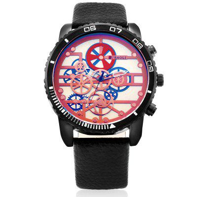 JUBAOLI 1180 Fashion Men WatchMens Watches<br>JUBAOLI 1180 Fashion Men Watch<br><br>Band material: Genuine Leather<br>Band size: 27 x 2.3cm<br>Brand: Jubaoli<br>Case material: Alloy<br>Clasp type: Pin buckle<br>Dial size: 5.1 x 5.1 x 1.2cm<br>Display type: Analog<br>Movement type: Quartz watch<br>Package Contents: 1 x Watch, 1 x Box<br>Package size (L x W x H): 8.50 x 8.00 x 5.30 cm / 3.35 x 3.15 x 2.09 inches<br>Package weight: 0.1420 kg<br>Product size (L x W x H): 27.00 x 5.10 x 1.20 cm / 10.63 x 2.01 x 0.47 inches<br>Product weight: 0.0880 kg<br>Shape of the dial: Round<br>Watch style: Fashion<br>Watches categories: Men<br>Water resistance : Life water resistant<br>Wearable length: 18.5 - 24.5cm
