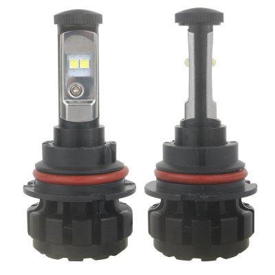 2pcs V18s 9007 HB5 LED Car HeadlightsCar Lights<br>2pcs V18s 9007 HB5 LED Car Headlights<br><br>Adaptable automobile mode: Universal<br>Connector: 9007<br>Lumens: 9600 LM / Set ( 4800 LM / bulb )<br>Package Contents: 2 x LED Headlight<br>Package size (L x W x H): 17.00 x 13.00 x 5.50 cm / 6.69 x 5.12 x 2.17 inches<br>Package weight: 0.4710 kg<br>Power: 80W<br>Product size (L x W x H): 9.20 x 4.00 x 1.80 cm / 3.62 x 1.57 x 0.71 inches<br>Product weight: 0.2960 kg<br>Type: Head Lamp