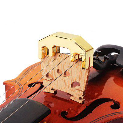 B36 Zinc Alloy 1/2 3/4 4/4 Violin Practice MuteViolin Parts<br>B36 Zinc Alloy 1/2 3/4 4/4 Violin Practice Mute<br><br>Application: Violin Use<br>Materials: Metal<br>Package Contents: 1 x Mute<br>Package size: 7.00 x 6.00 x 2.90 cm / 2.76 x 2.36 x 1.14 inches<br>Package weight: 0.1190 kg<br>Product size: 5.00 x 1.25 x 2.50 cm / 1.97 x 0.49 x 0.98 inches<br>Prouduct Weight: 0.080 kg