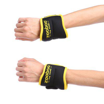 Zooboo Pair of Adjusting Fitness Hand Wrist Weigh SandbagsExercise Equipments<br>Zooboo Pair of Adjusting Fitness Hand Wrist Weigh Sandbags<br><br>Brand: Zooboo<br>Functions: Arm, Leg<br>Package Content: 1 x Zooboo Pair of Weigh Sandbags<br>Package Size(L x W x H): 30.00 x 13.00 x 6.00 cm / 11.81 x 5.12 x 2.36 inches<br>Package weight: 1.1400 kg<br>Product Size(L x W x H): 28.50 x 10.50 x 2.50 cm / 11.22 x 4.13 x 0.98 inches<br>Product weight: 1.0000 kg<br>Type: Other Equipment