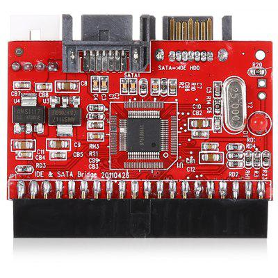 40 Pin Female IDE to SATA Bidirectional Adapter Card