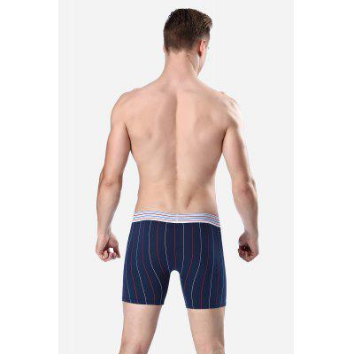 Male Stylish Leisure Striated Sports Boxer ShortsMens Underwear &amp; Pajamas<br>Male Stylish Leisure Striated Sports Boxer Shorts<br><br>Package Contents: 1 x Boxer Shorts<br>Package size: 20.00 x 20.00 x 2.00 cm / 7.87 x 7.87 x 0.79 inches<br>Package weight: 0.1000 kg<br>Product weight: 0.0700 kg