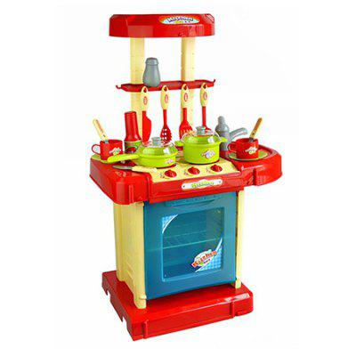 Multifunctional Suitcase Kitchen Pretend Play Toy Set