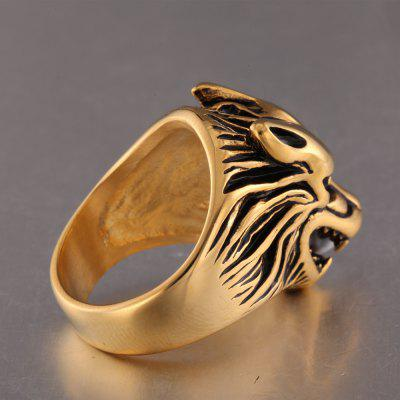 Personality Wolf Head Pattern RingRings<br>Personality Wolf Head Pattern Ring<br><br>Fabric: Others<br>Package Contents: 1 x Ring<br>Package size (L x W x H): 6.00 x 6.00 x 3.00 cm / 2.36 x 2.36 x 1.18 inches<br>Package weight: 0.0600 kg<br>Product weight: 0.0200 kg<br>Style: Animal, Fashion<br>Type: Rings