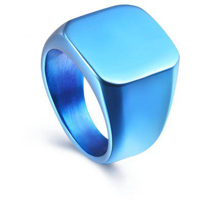 Business Men Fashion Solid Ring