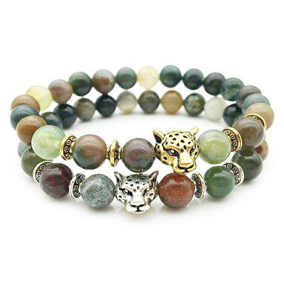 Unisex Agate Lion Design Beads BraceletBracelets &amp; Bangles<br>Unisex Agate Lion Design Beads Bracelet<br><br>Fabric: Agate,Alloy<br>Jewelry Silhouette: Others<br>Occasions: Casual, Party<br>Package Contents: 1 x Bracelet<br>Package size (L x W x H): 7.00 x 7.00 x 3.00 cm / 2.76 x 2.76 x 1.18 inches<br>Package weight: 0.0600 kg<br>Product weight: 0.0200 kg<br>Style: Fashion<br>Type: Bracelet