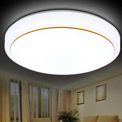 Round Modern Ceiling Light with Golden Border 220VFlush Ceiling Lights<br>Round Modern Ceiling Light with Golden Border 220V<br><br>Certifications: 3C<br>Features: Eye Protection<br>Fixture Height ( CM ): 41<br>Fixture Length ( CM ): 7<br>Fixture Width ( CM ): 41<br>Light Direction: Downlight<br>Package Contents: 1 x Light, 1 x Remote Controller<br>Package size (L x W x H): 42.00 x 42.00 x 7.00 cm / 16.54 x 16.54 x 2.76 inches<br>Package weight: 3.2500 kg<br>Product weight: 3.0000 kg<br>Remote Control Supported: Yes<br>Shade Material: Acrylic<br>Style: Modern/Contemporary, Artistic Style<br>Suggested Room Size: 10 - 15?<br>Suggested Space Fit: Bedroom,Dining Room<br>Type: Ceiling Light<br>Voltage ( V ): 220