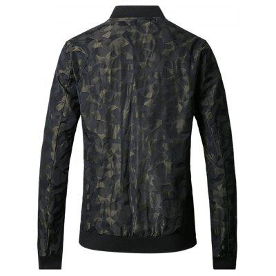 Simple Long Sleeve Jacquard JacketMens Jackets &amp; Coats<br>Simple Long Sleeve Jacquard Jacket<br><br>Closure Type: Zipper<br>Clothes Type: Jackets<br>Embellishment: Others<br>Materials: Cotton, Nylon<br>Package Content: 1 x Men Jacket<br>Package Dimension: 40.00 x 30.00 x 4.00 cm / 15.75 x 11.81 x 1.57 inches<br>Package weight: 0.4400 kg<br>Pattern Type: Geometric<br>Product weight: 0.4000 kg<br>Seasons: Autumn,Spring<br>Shirt Length: Regular<br>Sleeve Length: Long Sleeves<br>Style: Casual<br>Thickness: Thin