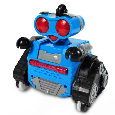 2.4GHz Multifunctional LED Rolling Ball Robot - RTRRC Robot<br>2.4GHz Multifunctional LED Rolling Ball Robot - RTR<br><br>Age: Above 3 years old<br>Features: 2.4GHz Remote Control<br>Material: ABS/PS, Electronic Components<br>Model Power: 4 x 1.5V AA battery ( not included )<br>Operation Time: 1 hour<br>Package Contents: 1 x RC Robot, 1 x Transmitter<br>Package size (L x W x H): 34.00 x 24.00 x 15.00 cm / 13.39 x 9.45 x 5.91 inches<br>Package weight: 1.2400 kg<br>Product size (L x W x H): 14.00 x 8.70 x 14.00 cm / 5.51 x 3.43 x 5.51 inches<br>Product weight: 0.9500 kg<br>Remote Control: 2.4GHz Wireless Remote Control<br>Transmitter Power: 2 x 1.5V AA battery(not included)