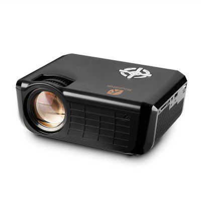 Houzetek 720P 1800 Lumens Private Theater Projectorprojectors<br>Houzetek 720P 1800 Lumens Private Theater Projector<br><br>Brand: Houzetek<br>Package Contents: 1 x Projector, 1 x Remote Controller<br>Package size (L x W x H): 31.00 x 21.00 x 12.50 cm / 12.2 x 8.27 x 4.92 inches<br>Package weight: 1.6000 kg<br>Product size (L x W x H): 22.30 x 16.80 x 8.50 cm / 8.78 x 6.61 x 3.35 inches<br>Product weight: 1.1800 kg