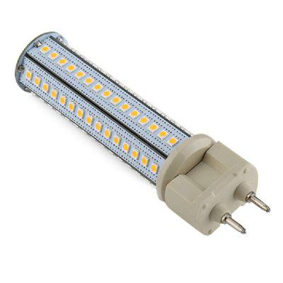 1PC G12 12W Aluminum LED Corn Light AC110 - 240VLED Tubes<br>1PC G12 12W Aluminum LED Corn Light AC110 - 240V<br><br>Bulb Shape: G12<br>Certifications: CE,RoHs<br>Connection: G12<br>Connector Type: G12<br>CRI: RA: &gt; 80<br>Dimmable: No<br>Features: Decorative<br>Finish: Aluminum<br>Initial Lumens ( lm ): 1050lm ± 10percent<br>LED Beam Angle: 360 Degree<br>LED Quantity: 102pcs<br>LED Type: SMD 2835<br>Lifetime ( h ): More Than  50000<br>Light Source Color: White<br>Material: Ultra Light Aluminium<br>Package Contents: 1 x LED Corn Light<br>Package size (L x W x H): 12.30 x 3.00 x 3.00 cm / 4.84 x 1.18 x 1.18 inches<br>Package weight: 0.0700 kg<br>Power Supply: AC Powered<br>Primary Application: Bedroom,Childrens Room,Garage or Carport,Home or Office,Living Room or Dining Room,Storage Room or Utility Room<br>Product size (L x W x H): 11.70 x 2.60 x 2.60 cm / 4.61 x 1.02 x 1.02 inches<br>Product weight: 0.0450 kg<br>Type: LED Corn Lights<br>Voltage: AC110-240V<br>Wattage: 11-15W