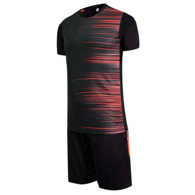 Acetate Fiber Men Shirt Football SuitWeight Lifting Clothes<br>Acetate Fiber Men Shirt Football Suit<br><br>Package Content: 1 x Football Suit, 1 x Packaging Bag<br>Package size: 35.00 x 26.00 x 3.00 cm / 13.78 x 10.24 x 1.18 inches<br>Package weight: 0.6500 kg<br>Product weight: 0.6000 kg