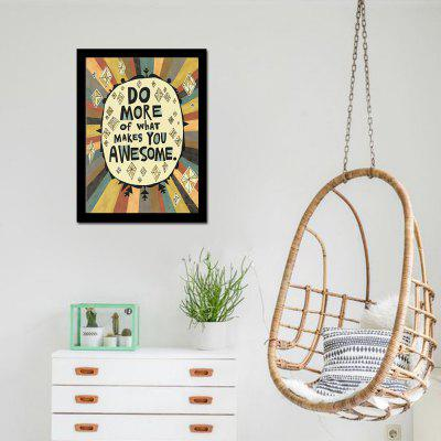 Modern Art English Quote Wall Decor Home Decoration Print