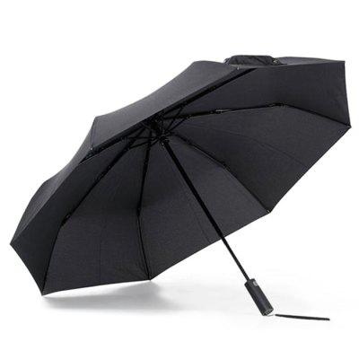Xiaomi Umbrella for Sunny and Rainy Days - BLACK from Gearbest