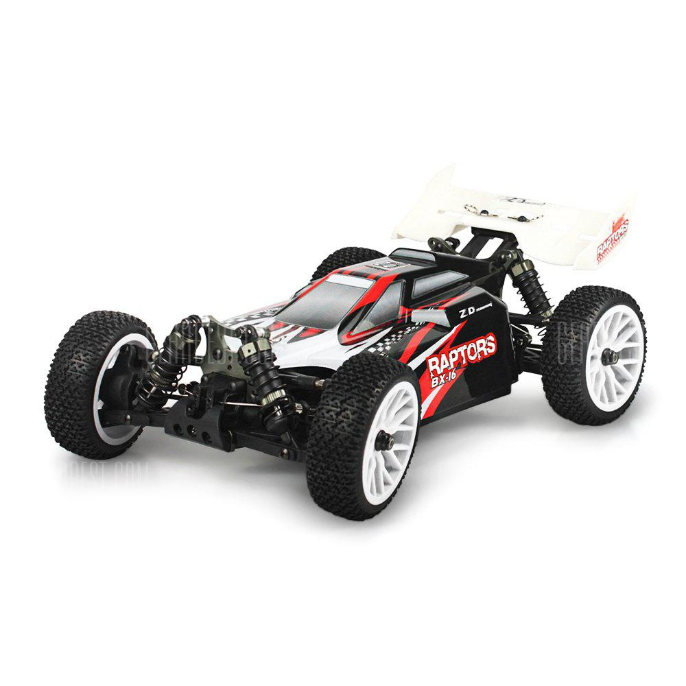 ZD Racing 16421 V2 1:16 4WD Off road RC Truck RTR BLACK