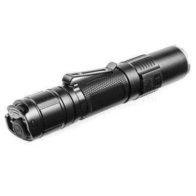 KLARUS XT2CR CREE XHP35 HD E4 LED FlashlightLED Flashlights<br>KLARUS XT2CR CREE XHP35 HD E4 LED Flashlight<br><br>Battery Included or Not: Yes<br>Battery Quantity: 1<br>Battery Type: 18650<br>Body Material: Aerospace-grade Aluminum Alloy<br>Brand: KLARUS<br>Color: Black<br>Color Temperature: 6000-7000K<br>Emitters: Cree XPH35 HD E4<br>Emitters Quantity: 1<br>Feature: Waterproof, Power Indicator, Compact, Batteries<br>Flashlight size: Mid size<br>Flashlight Type: Handheld<br>Function: Work, Walking, Hiking, Fishing, Exploring, Camping, Bike, Backpacking, Army<br>Light color: White light, Cool White<br>Lumens Range: &gt;1000Lumens<br>Luminous Flux: 1600Lm<br>Package Contents: 1 x Flashlight?battery included ), 1 x  USB Charging Cable, 1 x Lanyard, 1 x Spare O-ring, 1 x Holster, 1 x Clip<br>Package size (L x W x H): 20.00 x 10.00 x 9.00 cm / 7.87 x 3.94 x 3.54 inches<br>Package weight: 0.2200 kg<br>Power Source: Battery,USB<br>Product size (L x W x H): 13.90 x 2.56 x 2.54 cm / 5.47 x 1.01 x 1 inches<br>Product weight: 0.0885 kg<br>Switch Location: Tail Cap<br>Waterproof Standard: IPX-8 Standard Waterproof