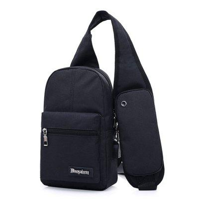 Men Leisure Chest Bag with USB PortCrossbody Bags<br>Men Leisure Chest Bag with USB Port<br><br>Features: Wearable<br>Gender: Men<br>Material: Polyester<br>Package Size(L x W x H): 32.00 x 20.00 x 3.00 cm / 12.6 x 7.87 x 1.18 inches<br>Package weight: 0.3900 kg<br>Packing List: 1 x Chest Bag<br>Product weight: 0.3500 kg<br>Style: Casual, Fashion<br>Type: Shoulder bag