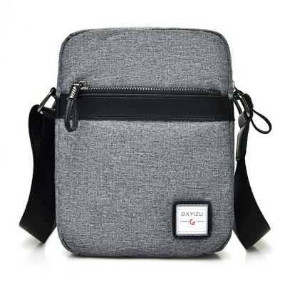 Men Fashion Leisure Canvas Shoulder BagCrossbody Bags<br>Men Fashion Leisure Canvas Shoulder Bag<br><br>Features: Wearable<br>Gender: Men<br>Material: Canvas<br>Package Size(L x W x H): 25.00 x 20.00 x 3.00 cm / 9.84 x 7.87 x 1.18 inches<br>Package weight: 0.2700 kg<br>Packing List: 1 x Shoulder Bag<br>Product weight: 0.2300 kg<br>Style: Casual, Fashion<br>Type: Shoulder bag