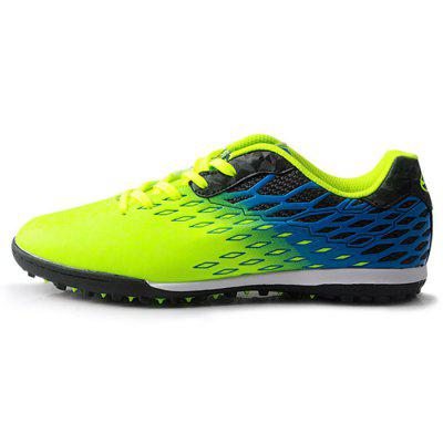 TIEBAO Male Colorful Soft Soccer Spiked SneakersAthletic Shoes<br>TIEBAO Male Colorful Soft Soccer Spiked Sneakers<br><br>Brand: TIEBAO<br>Closure Type: Lace-Up<br>Contents: 1 x Pair of Shoes<br>Function: Slip Resistant<br>Materials: Rubber, PVC<br>Occasion: Sports, Soccer, Party, Outdoor Clothing, Holiday, Daily, Casual<br>Outsole Material: Rubber<br>Package Size ( L x W x H ): 31.00 x 22.00 x 12.00 cm / 12.2 x 8.66 x 4.72 inches<br>Package Weights: 0.98kg<br>Seasons: Autumn,Spring<br>Style: Modern, Leisure, Fashion, Comfortable, Casual<br>Toe Shape: Round Toe<br>Type: Sports Shoes<br>Upper Material: PVC