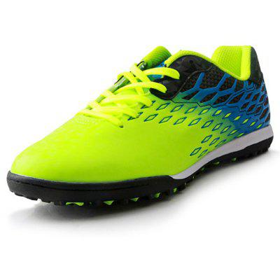 TIEBAO Masculino Colorido Soft Soccer Spiked Athletic Shoes