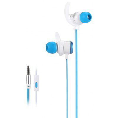IN - 107 In-ear Wired Stereo Earphones with 3.5mm Jack for iOS / Android Smartphones