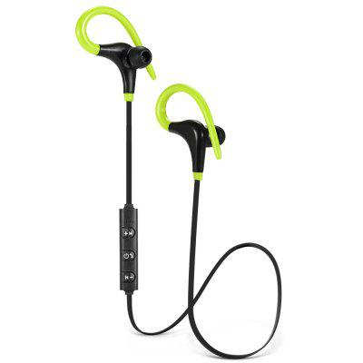 In-ear with Ear Hook Wireless Stereo Bluetooth Sports Earbuds with On-cord Control