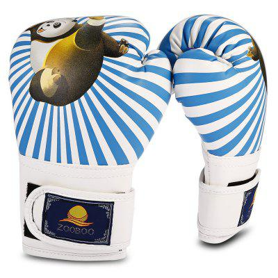Zooboo Paired Full Finger PU Leather Panda Kids Boxing GlovesBoxing<br>Zooboo Paired Full Finger PU Leather Panda Kids Boxing Gloves<br><br>Brand: Zooboo<br>Material: Foam Rubber, Leather<br>Package Content: 1 x Zooboo Pair of Boxing Gloves<br>Package size: 29.00 x 15.00 x 10.00 cm / 11.42 x 5.91 x 3.94 inches<br>Package weight: 0.2150 kg<br>Product size: 20.00 x 14.00 x 9.00 cm / 7.87 x 5.51 x 3.54 inches<br>Product weight: 0.1720 kg<br>Target User: Children