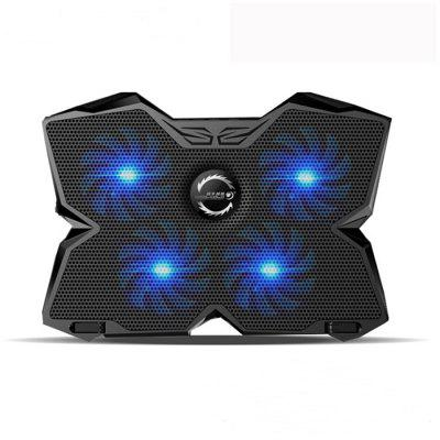 CoolCold Ultra-quiet USB Cooling Pad with 4 Fans