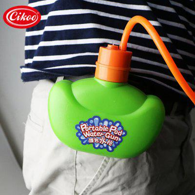 Cikao Portable Waist Squirt GunOutdoor Fun &amp; Sports<br>Cikao Portable Waist Squirt Gun<br><br>Age: 3 Years+<br>Applicable gender: Unisex<br>Brand: Cikao<br>Design Style: Other<br>Features: Others<br>Material: Plastic<br>Package Contents: 1 x Water Pistol<br>Package size (L x W x H): 31.00 x 22.50 x 7.00 cm / 12.2 x 8.86 x 2.76 inches<br>Package weight: 0.3000 kg<br>Product size (L x W x H): 28.00 x 20.00 x 5.00 cm / 11.02 x 7.87 x 1.97 inches<br>Product weight: 0.2550 kg<br>Small Parts : No<br>Type: Outdoor Toys<br>Washing: Yes