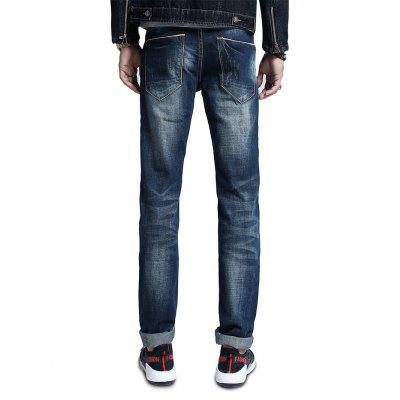 Men Fashion Straight Slim Fit Cotton JeansMens Pants<br>Men Fashion Straight Slim Fit Cotton Jeans<br><br>Material: Chemical Fiber, Cotton, Polyester, Spandex<br>Package Contents: 1 x Men Pants<br>Package size: 30.00 x 35.00 x 2.00 cm / 11.81 x 13.78 x 0.79 inches<br>Package weight: 0.5400 kg<br>Product weight: 0.5000 kg
