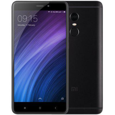 Xiaomi Redmi Note 4 3GB RAM 4G Phablet - GLOBAL VERSION BLACK