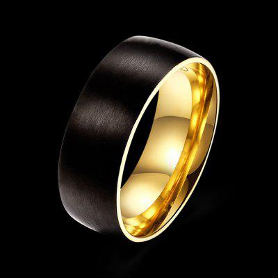 Matte Black Fashion RingRings<br>Matte Black Fashion Ring<br><br>Fabric: Others<br>Package Contents: 1 x Ring<br>Package size (L x W x H): 7.00 x 7.00 x 3.00 cm / 2.76 x 2.76 x 1.18 inches<br>Package weight: 0.0480 kg<br>Product weight: 0.0080 kg<br>Style: Fashion<br>Type: Rings