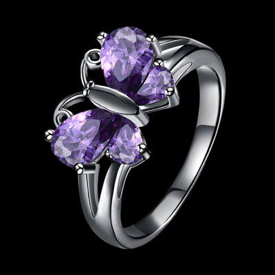 Fashion Creative Butterfly Shape RingRings<br>Fashion Creative Butterfly Shape Ring<br><br>Fabric: Zircon<br>Occasions: Casual, Party<br>Package size (L x W x H): 4.00 x 2.00 x 2.00 cm / 1.57 x 0.79 x 0.79 inches<br>Package weight: 0.0560 kg<br>Product weight: 0.0360 kg<br>Style: Fashion<br>Type: Rings