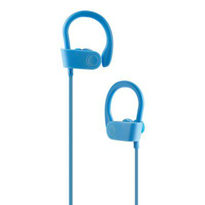 ES - 21 Anti-slip Wireless Stereo Bluetooth Sports EarbudsEarbud Headphones<br>ES - 21 Anti-slip Wireless Stereo Bluetooth Sports Earbuds<br><br>Application: Sport, Running<br>Battery Capacity(mAh): 90mAh Li-ion Battery<br>Battery Types: Built-in<br>Bluetooth: Yes<br>Bluetooth distance: W/O obstacles 10m<br>Bluetooth protocol: A2DP,AVRCP,HFP,HSP<br>Bluetooth Version: V4.2<br>Cable Length (m): 0.6m<br>Charging Time.: 2H<br>Compatible with: Mobile phone, iPod, iPhone<br>Connecting interface: Micro USB<br>Connectivity: Wired and Wireless<br>Driver unit: 10mm<br>Frequency response: 20-20000Hz<br>Function: Answering Phone, Bluetooth, Microphone, Song Switching<br>Impedance: 32ohms<br>Language: No<br>Material: Plastic<br>Model: ES - 21<br>Music Time: 3 - 6H<br>Package Contents: 1 x Earbuds, 1 x English / Chinese Manual, 1 x Micro USB Cable, 2 x Pair of Standby Earbud Tips ( L, S )<br>Package size (L x W x H): 14.00 x 5.00 x 19.00 cm / 5.51 x 1.97 x 7.48 inches<br>Package weight: 0.1000 kg<br>Product weight: 0.0190 kg<br>Sensitivity: 80dB<br>Standby time: 100H<br>Talk time: 3 - 6H<br>Type: In-Ear<br>Wearing type: In-ear with ear hook