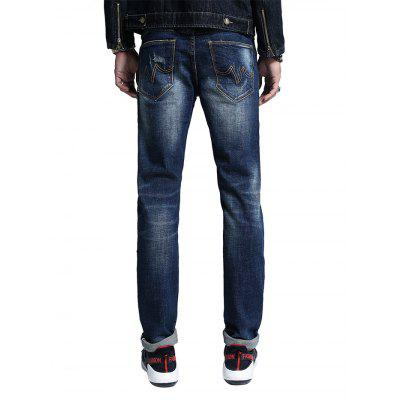 Male Fashionable Comfortable Cotton JeansMens Pants<br>Male Fashionable Comfortable Cotton Jeans<br><br>Material: Cotton, Spandex<br>Package Contents: 1 x Pair of Jeans<br>Package size: 30.00 x 35.00 x 2.00 cm / 11.81 x 13.78 x 0.79 inches<br>Package weight: 0.5200 kg<br>Product weight: 0.5000 kg