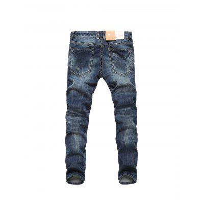 Men Fashionable Comfortable Simple Cotton JeansMens Pants<br>Men Fashionable Comfortable Simple Cotton Jeans<br><br>Material: Cotton, Spandex<br>Package Contents: 1 x Pair of Jeans<br>Package size: 30.00 x 35.00 x 2.00 cm / 11.81 x 13.78 x 0.79 inches<br>Package weight: 0.5500 kg<br>Product weight: 0.5000 kg