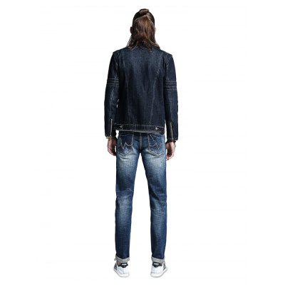 Men Trendy Simple Skin Friendly Cotton JeansMens Pants<br>Men Trendy Simple Skin Friendly Cotton Jeans<br><br>Material: Cotton, Spandex<br>Package Contents: 1 x Pair of Jeans<br>Package size: 30.00 x 35.00 x 2.00 cm / 11.81 x 13.78 x 0.79 inches<br>Package weight: 0.5500 kg<br>Product weight: 0.5000 kg