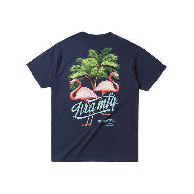 Male Stylish Casual Flamingo Pattern Short Sleeve T-shirtMens Short Sleeve Tees<br>Male Stylish Casual Flamingo Pattern Short Sleeve T-shirt<br><br>Fabric Type: Cotton<br>Material: Cotton<br>Neckline: Round Neck<br>Package Content: 1 x T-shirt<br>Package size: 35.00 x 25.00 x 2.00 cm / 13.78 x 9.84 x 0.79 inches<br>Package weight: 0.2500 kg<br>Pattern Type: Animal, Solid<br>Product weight: 0.2000 kg<br>Season: Summer<br>Sleeve Length: Short Sleeves<br>Style: Fashion, Casual