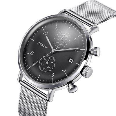 SINOBI 9710 Stainless Steel Band Men Quartz WatchMens Watches<br>SINOBI 9710 Stainless Steel Band Men Quartz Watch<br><br>Band material: Stainless Steel<br>Band size: 18 x 2cm<br>Brand: Sinobi<br>Case material: Alloy<br>Clasp type: Sheet folding clasp<br>Dial size: 4.2 x 4.2 x 1cm<br>Display type: Analog<br>Movement type: Quartz watch<br>Package Contents: 1 x Watch, 1 x Box<br>Package size (L x W x H): 28.00 x 8.00 x 3.50 cm / 11.02 x 3.15 x 1.38 inches<br>Package weight: 0.1300 kg<br>Product size (L x W x H): 18.00 x 4.20 x 1.00 cm / 7.09 x 1.65 x 0.39 inches<br>Product weight: 0.0900 kg<br>Shape of the dial: Round<br>Watch mirror: Mineral glass<br>Watch style: Business, Fashion<br>Watches categories: Men