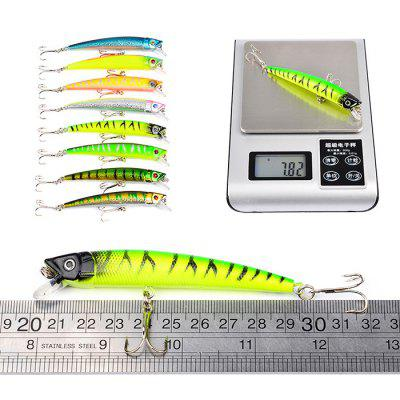 Proberos DWMI006 43-piece Set ABS Plastic Fishing LuresFishing Baits and Hooks<br>Proberos DWMI006 43-piece Set ABS Plastic Fishing Lures<br><br>Brand: Proberos<br>Package Contents: 43 x Fishing Lures<br>Package size (L x W x H): 20.00 x 10.00 x 10.00 cm / 7.87 x 3.94 x 3.94 inches<br>Package weight: 0.4040 kg<br>Product weight: 0.3400 kg<br>Style: Fish<br>Type: Hard Bait