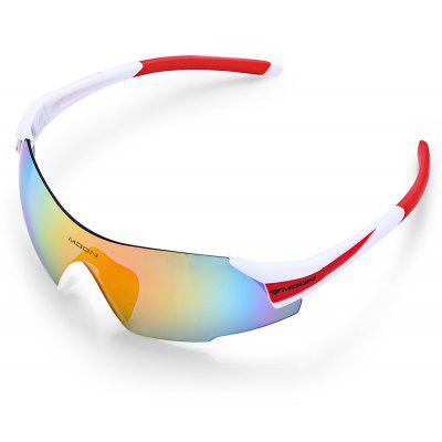 Windproof 5-replaceable-lenses Polarized Cycling Glasses Set