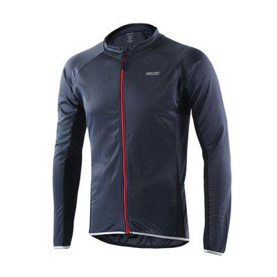 Arsuxeo 6022 Quick Dry Breathable Long Sleeve Jersey for MenCycling Clothings<br>Arsuxeo 6022 Quick Dry Breathable Long Sleeve Jersey for Men<br><br>Brand: Arsuxeo<br>Feature: Quick Dry, Breathable<br>For: Cycling<br>Package Contents: 1 x Long Sleeve Jersey<br>Package size (L x W x H): 27.00 x 17.00 x 6.00 cm / 10.63 x 6.69 x 2.36 inches<br>Package weight: 0.2600 kg<br>Product size (L x W x H): 26.00 x 16.00 x 5.00 cm / 10.24 x 6.3 x 1.97 inches<br>Product weight: 0.2500 kg<br>Suitable Crowds: Men<br>Type: Long Sleeve Tops