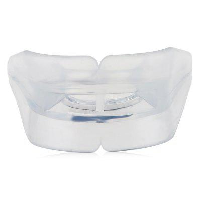 Zooboo Silicone Double-side Sports Mouthguard MouthpieceSports Protective Gear<br>Zooboo Silicone Double-side Sports Mouthguard Mouthpiece<br><br>Brand: Zooboo<br>Material: Silicone<br>Package Content: 1 x Zooboo Sports Mouthguard, 1 x Storage Box<br>Package size: 7.00 x 7.00 x 4.00 cm / 2.76 x 2.76 x 1.57 inches<br>Package weight: 0.0490 kg<br>Product size: 6.00 x 5.50 x 3.00 cm / 2.36 x 2.17 x 1.18 inches<br>Product weight: 0.0090 kg<br>Type: Mouthguard