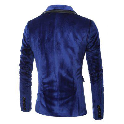 Male Elegant Velvet Bright One Button SuitMens Blazers<br>Male Elegant Velvet Bright One Button Suit<br><br>Material: Cotton, Polyester<br>Package Contents: 1 x Suit<br>Package size: 40.00 x 30.00 x 4.00 cm / 15.75 x 11.81 x 1.57 inches<br>Package weight: 0.8500 kg<br>Product weight: 0.8000 kg