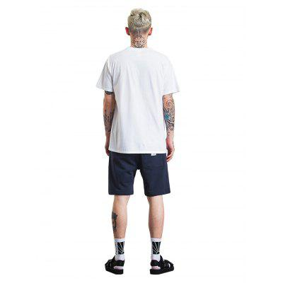 Male Fashionable Ice Cream Printed Cotton T-ShirtMens Short Sleeve Tees<br>Male Fashionable Ice Cream Printed Cotton T-Shirt<br><br>Fabric Type: Cotton<br>Neckline: Round Collar<br>Package Content: 1 x T-Shirt<br>Package size: 30.00 x 35.00 x 2.00 cm / 11.81 x 13.78 x 0.79 inches<br>Package weight: 0.2600 kg<br>Product weight: 0.2100 kg<br>Season: Summer<br>Sleeve Length: Short Sleeves
