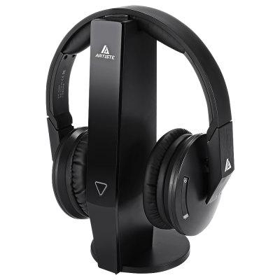 ARTISTE ADH500 2.4GHz Wireless Headphones for TVGaming Headphones<br>ARTISTE ADH500 2.4GHz Wireless Headphones for TV<br><br>Application: Gaming<br>Battery Capacity(mAh): Total 550mAh for 2 NiMH AAA Batteries<br>Battery Types: Built-in<br>Battery Volatge: 2.4V<br>Brand: ARTISTE<br>Charging Time.: 7H<br>Compatible with: iPod, Portable Media Player, PC, MP3, Mobile phone, iPhone, Computer<br>Connecting interface: 3.5mm<br>Connectivity: Wireless<br>Driver unit: 40mm<br>Frequency response: 15Hz-22KHz<br>Function: Voice control<br>Impedance: 24ohms<br>Language: No<br>Material: ABS<br>Model: ADH500<br>Music Time: 14H<br>Package Contents: 1 x ADH500 Wireless Headphone, 1 x Transmitter, 1 x 3.5mm Audio Cable, 2 x RCA Cable ( Male and Female ), 1 x Power Adapter ( CN ), 1 x 3.5mm to 6.5mm Audio Adapter<br>Package size (L x W x H): 30.00 x 17.00 x 25.00 cm / 11.81 x 6.69 x 9.84 inches<br>Package weight: 1.0300 kg<br>Product size (L x W x H): 18.00 x 19.00 x 8.50 cm / 7.09 x 7.48 x 3.35 inches<br>Product weight: 0.2430 kg<br>Sensitivity: 105dB<br>SNR: More Than and Equal to 85dB<br>Type: Over-ear
